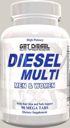 Diesel Nutrition Diesel Multi Vitamin - 90 Tablets