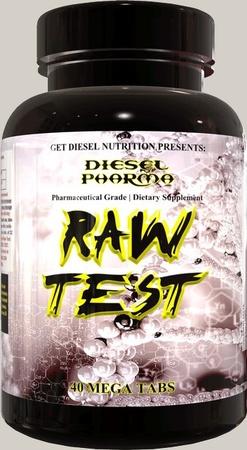 Diesel Nutrition Raw Test - 40 Tab