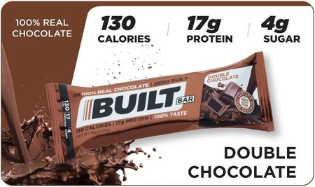Built Bar Double Chocolate - 18 Bars