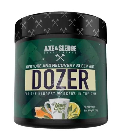 Axe & Sledge Dozer  Honey Lemon Tea - 30 Servings
