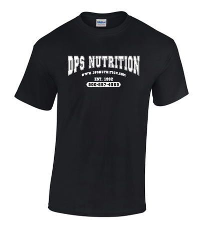 Dps Nutrition T-Shirt Black - Medium