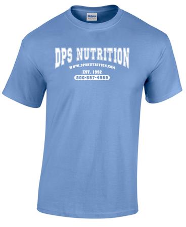 Dps Nutrition T-Shirt Carolina Blue - Large