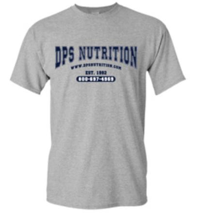 Dps Nutrition T-Shirt Gray - Medium