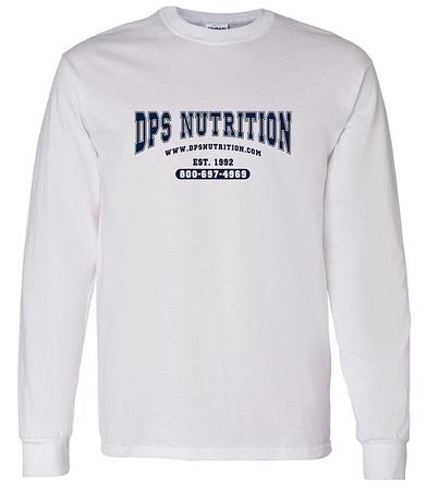 Dps Nutrition Long Sleeve T-Shirt White - Large