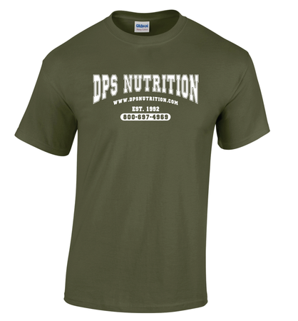 Dps Nutrition T-Shirt Military Green - Large