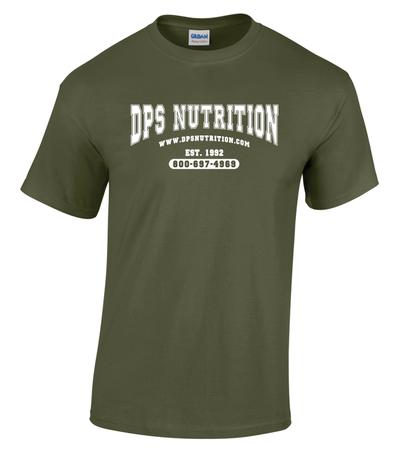 Dps Nutrition T-Shirt Military Green - XXXL
