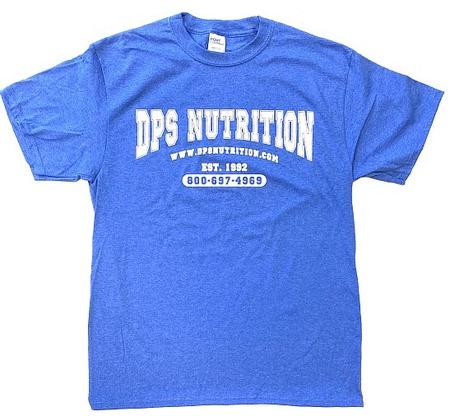 Dps Nutrition T-Shirt Heather Royal Blue - Large