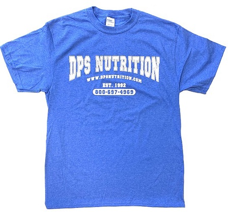 Dps Nutrition T-Shirt Heather Royal Blue - XXL