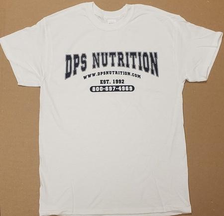 Dps Nutrition T-Shirt White - XXXL