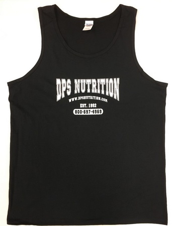 Dps Nutrition Tank Top Black - Medium