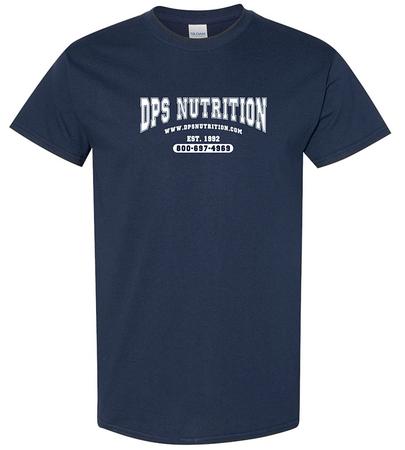 Dps Nutrition T-Shirt Navy Blue - Medium