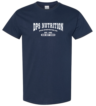 Dps Nutrition T-Shirt Navy Blue - Large
