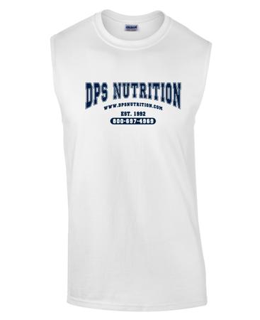 Dps Nutrition Sleeveless T-Shirt White - XL