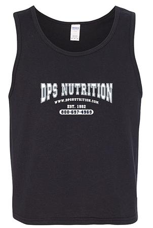 Dps Nutrition Tank Top Black - Medium