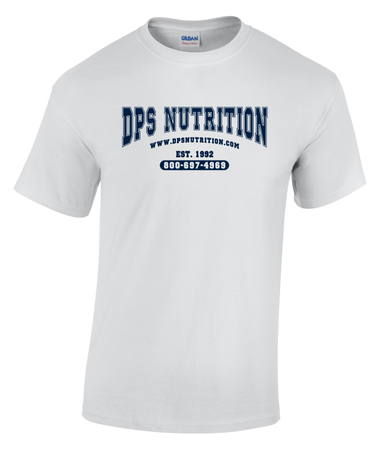 Dps Nutrition T-Shirt White - Large