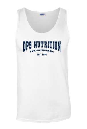 Dps Nutrition Tank Top White - XL