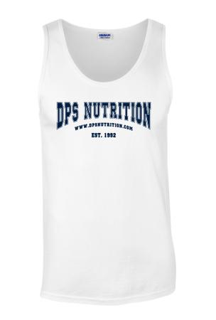 Dps Nutrition Tank Top White - Medium
