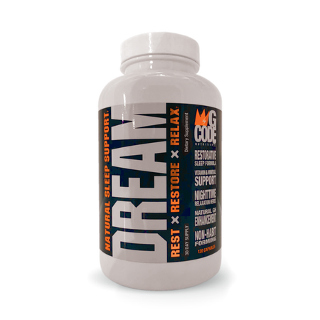 G Code Nutrition Dream Natural Sleep Support - 120 Cap