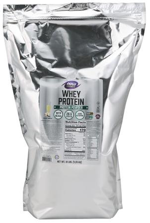 Now Foods Whey Protein  Vanilla - 10 Lb