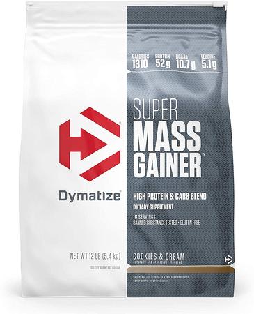 Dymatize Super Mass Gainer Cookies & Cream - 12 Lb