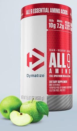 Dymatize ALL9 Amimo EAA's Green Apple - 30 Servings