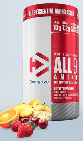 Dymatize ALL9 Amimo EAA's Fruit Fusion Rush - 30 Servings