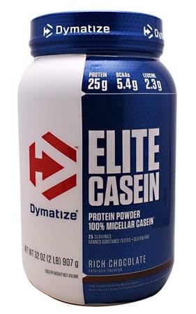 Dymatize Elite Casein Protein Chocolate - 2 Lb