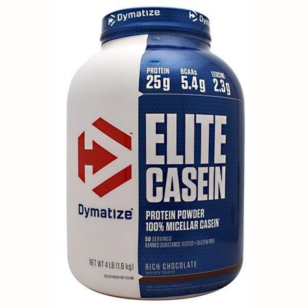 Dymatize Elite Casein Protein Chocolate - 4 Lb