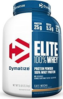 Dymatize Elite Whey Cafe Mocha - 5 Lb