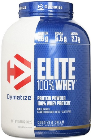 Dymatize Elite Whey Cookies & Cream - 5 Lb
