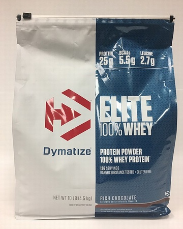 Dymatize Elite Whey Rich Chocolate - 10 Lb