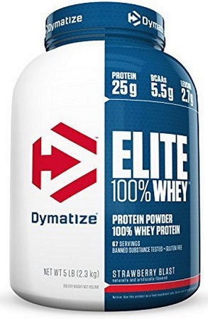 Dymatize Elite Whey Strawberry Blast - 5 Lb