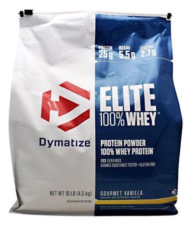 Dymatize Elite Whey Vanilla - 10 Lb