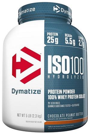 Dymatize ISO 100  Chocolate PB - 5 Lb