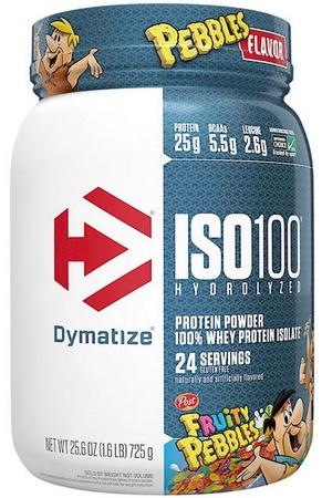 -Dymatize ISO 100  Fruity Pebbles - 1.6 Lbs. (24 Servings)