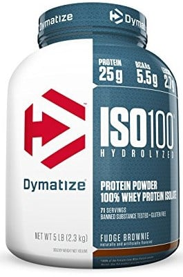Dymatize ISO 100  Fudge Brownie - 5 Lb