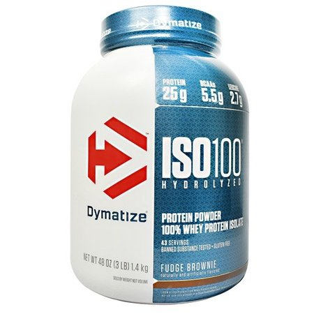 Dymatize ISO 100  Fudge Brownie  - 3 Lb