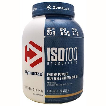 Dymatize ISO 100  Gourmet Vanilla - 3 Lb