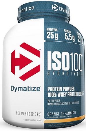 Dymatize ISO 100  Orange Creamsicle - 5 Lb