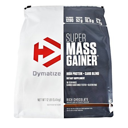 Dymatize Super Mass Gainer Rich Chocolate - 12 Lb