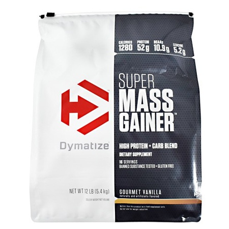 Dymatize Super Mass Gainer Vanilla - 12 Lb