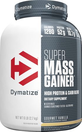 Dymatize Super Mass Gainer Vanilla - 6 Lb