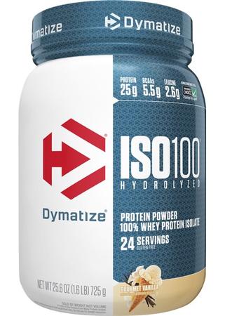 Dymatize ISO 100  Gourmet Vanilla - 1.6 Lb (24 Servings)
