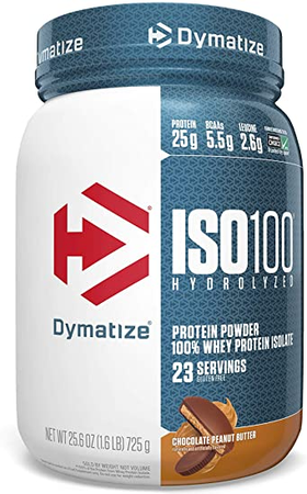 Dymatize ISO 100  Chocolate Peanut Butter - 1.6 Lb  (23 Servings)