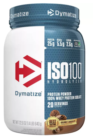 Dymatize ISO 100  Gourmet Chocolate - 1.6 Lb  (23 Servings)