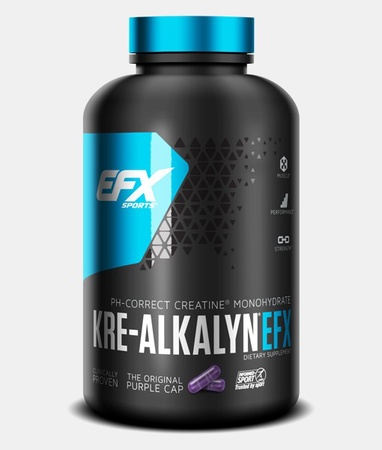 EFX Sports Kre-Alkalyn EFX Capsules - 260 Cap (New larger size 260 capsules)