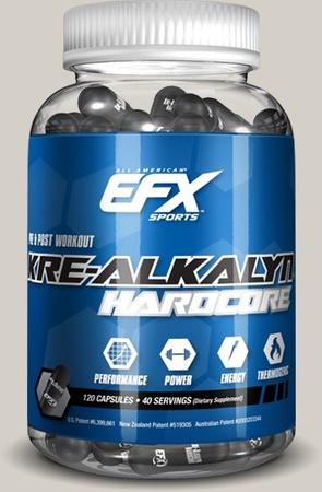 EFX Sports Kre-Alkalyn Hardcore - 120 Cap