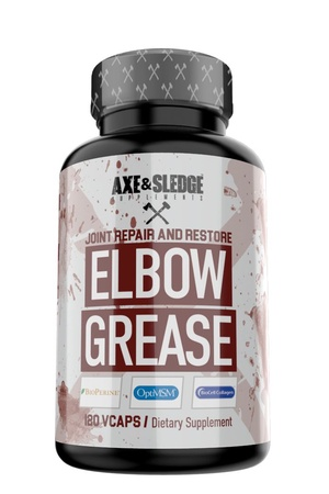 Axe & Sledge Elbow Grease  Joint health support  - 120 Cap