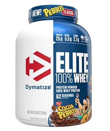 Dymatize Elite Whey Cocoa Pebbles - 5 Lb (62 servings)