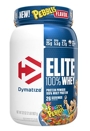 Dymatize Elite Whey Fruity Pebbles - 2 Lb (26 servings)